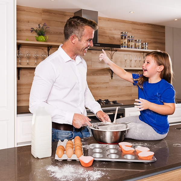Create a child-friendly kitchen for quality family time - Synergy Cabinets